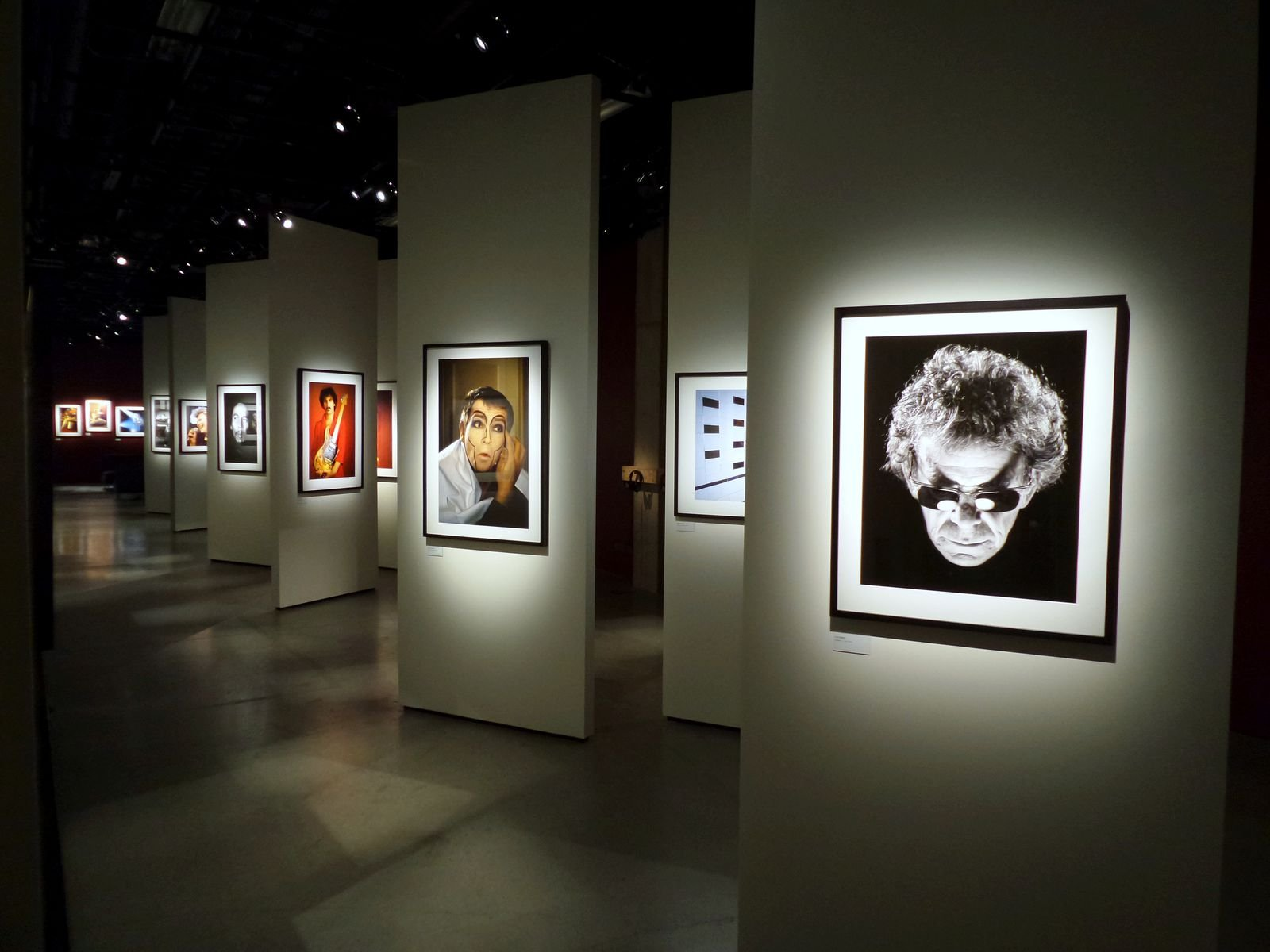 Image from the exhibition 'Wall of Sound - The Photography of  Guido Harari'